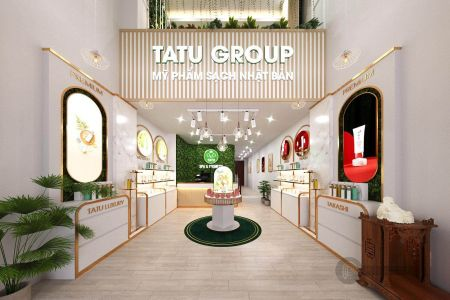 Showroom mỹ phẩm Tatu Group